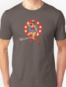 Wonder War Pin Up Bombshell T-Shirt