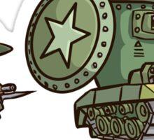 Rivet Wars Allied Grunt and Vert Tank Sticker