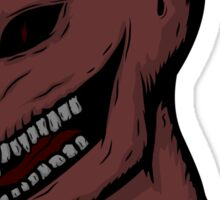 Severed Demon Head Sticker