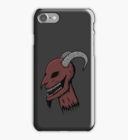 Severed Demon Head iPhone Case/Skin