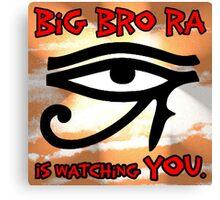 Big Bro Ra Canvas Print