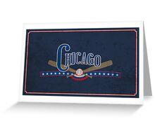 Chicago Baseball Greeting Card