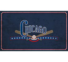 Chicago Baseball Photographic Print