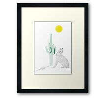 Howling party  Framed Print
