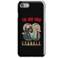The Man From G.R.U.N.K.L.E. iPhone Case/Skin