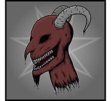 Severed Demon Head Photographic Print
