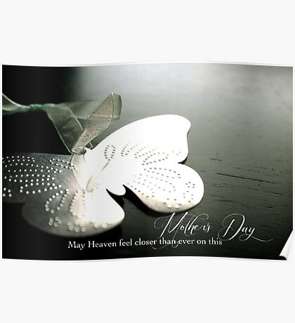 Mother's Day for a Bereaved Mother Poster