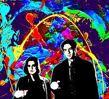 Scully & Mulder by Jessica O'Keefe