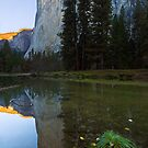 First Light - El Capitan, Yosemite NP, CA by Matthew Kocin