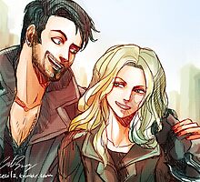 Captain Swan merch 2 (ouat) by thececilz