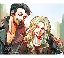 Captain Swan merch 2 (ouat) Photographic Print