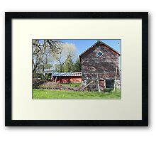 Rustic tustin Framed Print