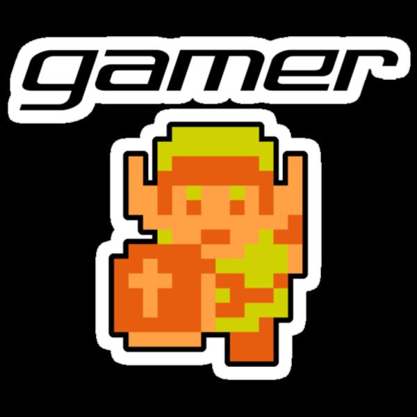 Gamer - Link by Sarah Kittell
