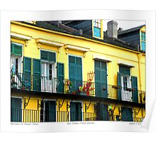 Apartment on Decatur Street Poster