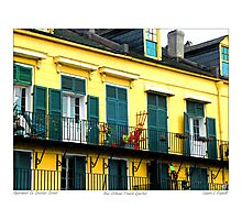 Apartment on Decatur Street Photographic Print