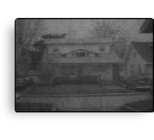 Roseanne's House Canvas Print