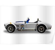 Ford - 1968 Shelby Cobra Convertable - Side Poster