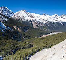 Icefields Parkway, Jasper National Park, Canada by Jim Stiles