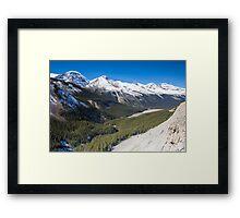 Icefields Parkway, Jasper National Park, Canada Framed Print