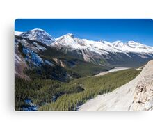 Icefields Parkway, Jasper National Park, Canada Canvas Print