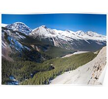 Icefields Parkway, Jasper National Park, Canada Poster
