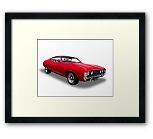 Ford - 1973 XA GT Fairmont Coupe Framed Print