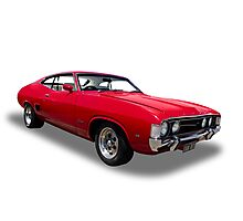 Ford - 1973 XA GT Fairmont Coupe Photographic Print
