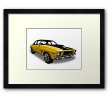 Holden - 1974 GTS Monaro Framed Print