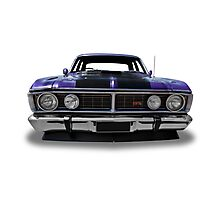 Ford - 1971 XY GT Fairmont Sedan - Front Photographic Print