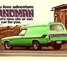 Holden Sandman Panel Van - Nostalgic by blulime