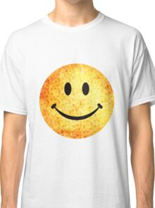 Smiley face - hippie sunflowers Classic T-Shirt