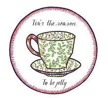 Tea's The Season by Carolyn Huane