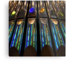 Rainbow Pipes Metal Print