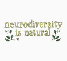 Neurodiversity is Natural One Piece - Short Sleeve