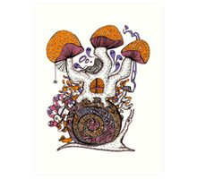 The Snail House Art Print