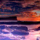 Avalon Beach Sunrise HDR by Andrew  MCKENZIE