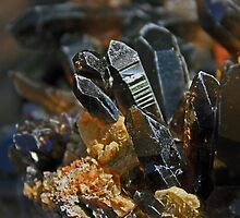 Family of Smokey Quartz Crystals by ZenCowboy