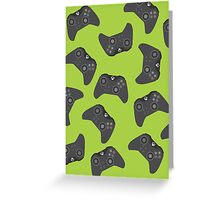 Controller One Joystick Greeting Card