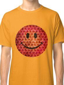 Smiley face - Escher graphic pattern Classic T-Shirt