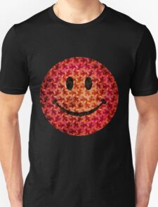 Smiley face - Escher graphic pattern T-Shirt