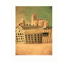 flour mill Art Print