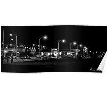 Geraldton @ Night Poster