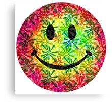 Smiley face - retro Canvas Print