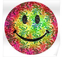 Smiley face - retro Poster