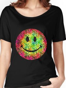 Smiley face - retro Women's Relaxed Fit T-Shirt