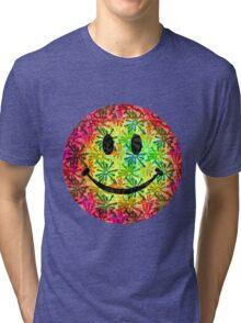 Smiley face - retro Tri-blend T-Shirt
