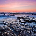 Black Rock Sunset by mcrow5