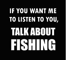 Talk About Fishing Photographic Print