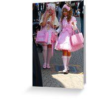 my prefered Barbie dolls Greeting Card