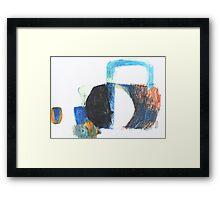 handle Framed Print